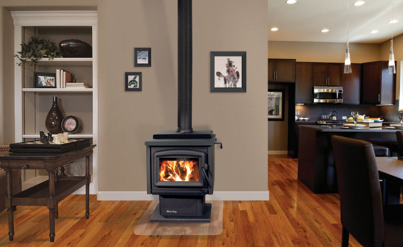 Tri-County Brick, Blaze King, wood stove